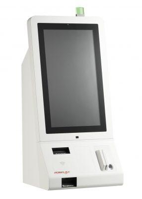Kiosk_tk-2100_2D Scanner_MSR_Fingerprint_NFC-RFID